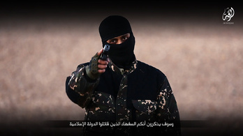 TEK: A Ferihegyen elfogott ISIS-katona a korábbi őrizetben is demonstratívan fekete öltözékben járt