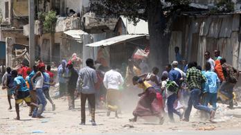 Minisztériumban tört ki tűzharc Szomáliában