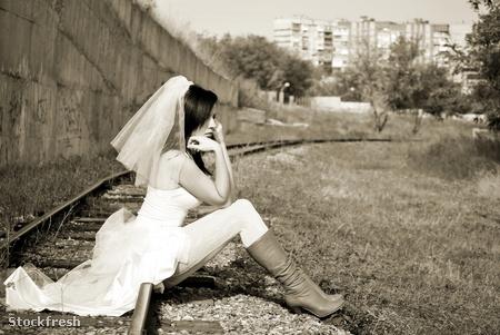stockfresh 532181 bride sizeM