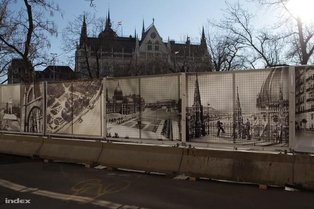 A takarásban elkezdődik a Kossuth téri mélygarázs építése