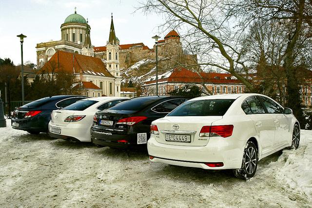 Hátulról az Avensis a legügyesebb