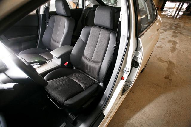 Azért a Mazda ülései elég jók ám