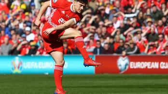 Eb-selejtező: Wales gyors góllal verte a szlovákokat