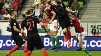 A magyar válogatott 2-1-re verte Horvátországot az Eb-selejtezőn
