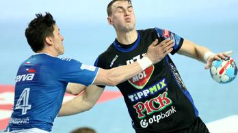 Pocsék kezdés után győzött a Szeged a kézi-BL-ben