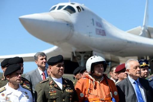 Orosz katonák érkeztek Venezuela fővárosába