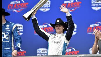 Figyelhet az F1: 18 éves minden idők legfiatalabb Indycar-győztese