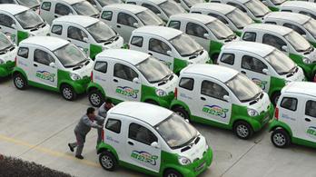 Nagy bajok vannak a kínai villanyautókkal