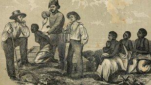 Tocqueville találkozása a déli elittel, akik egyben brutális rabszolgatartók is voltak