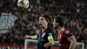 Modric: A magyarok erősebbek voltak