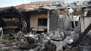 Izraeli lakóházba csapódott egy Gázából kilőtt rakéta