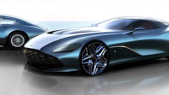 Durván néz ki az új Zagato Aston