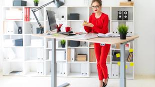 Tényleg segít a fogyásban az álló íróasztal?