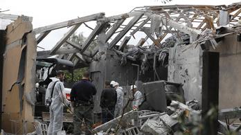 Izrael tűzszünet után is bombázza a Hamász állásait
