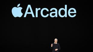 Száz játékhoz ad hozzáférést az Apple Arcade