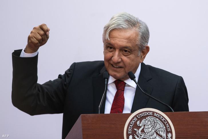 Andrés Manuel López Obrador, Mexikó államfője 2019. március 11-én
