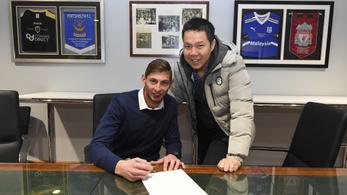 Cardiff City: Sala szerződése érvénytelen