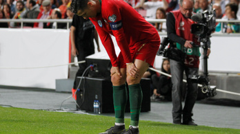 C. Ronaldo: Nyugi, rendben leszek