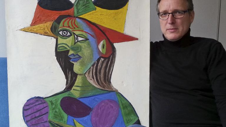 Hollandiában megtaláltak egy húsz éve ellopott Picasso-festményt