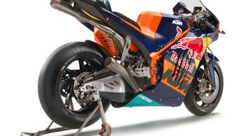 260 lóerőnél is erősebb a KTM MotoGP versenymotorja