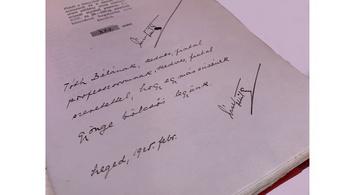 1,7 millió forintért kelt el József Attila dedikált kötete