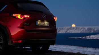 Menetpróba: Mazda CX-5 2.2d Takumi Plus – 2019., Nordkapp