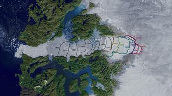 Már egy gleccser növekedésének sem lehet örülni