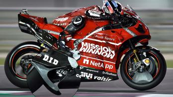 Legális a Ducati lengővillára szerelt szárnya a MotoGP-ben