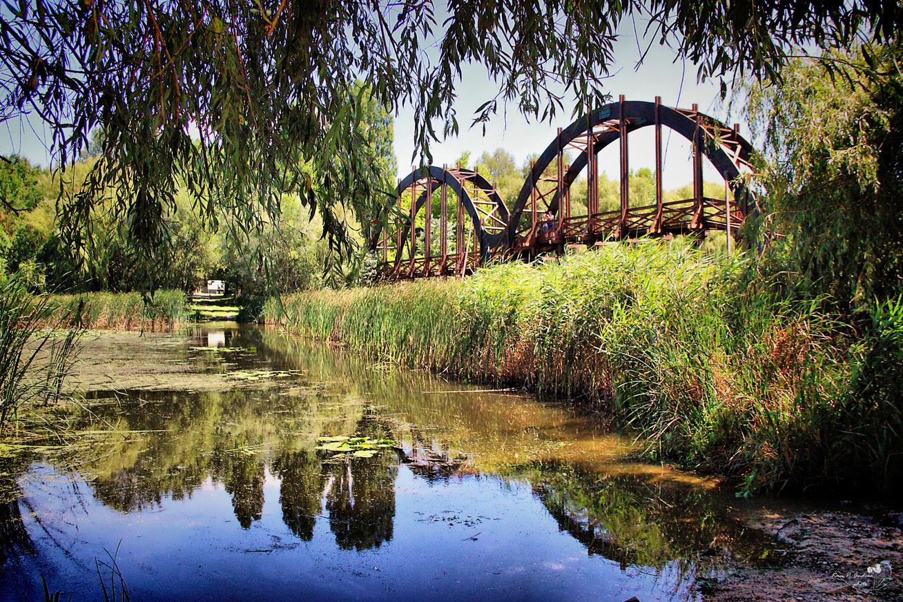 Egyszerre tündéri, karcsú és elegáns a Kis-Balatont jelképező Kányavári híd, mely összeköti a partot a Kányavári-szigettel.