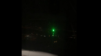 Lézerrel próbáltak megzavarni egy Budapestre leszálló gépet