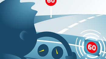 Jön a kötelező sebességkorlátozó és sofőrfigyelő