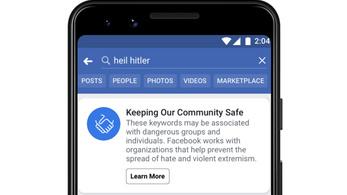 Bekeményít a Facebook, azonnal törölnek minden náci tartalmat