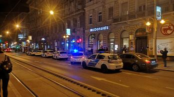 Lövöldözés volt Budapest belvárosában