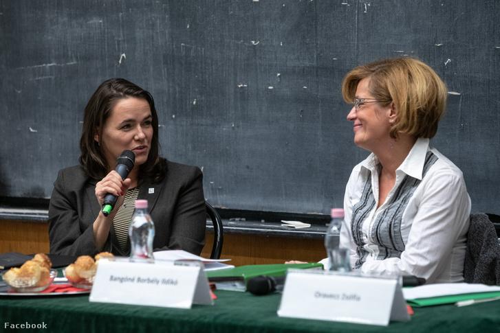 Novák Katalin és Bangóné Borbély Ildikó