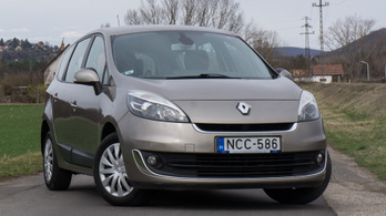 Használtteszt: Renault Grand Scénic 1,5 dCi Expression – 2013.