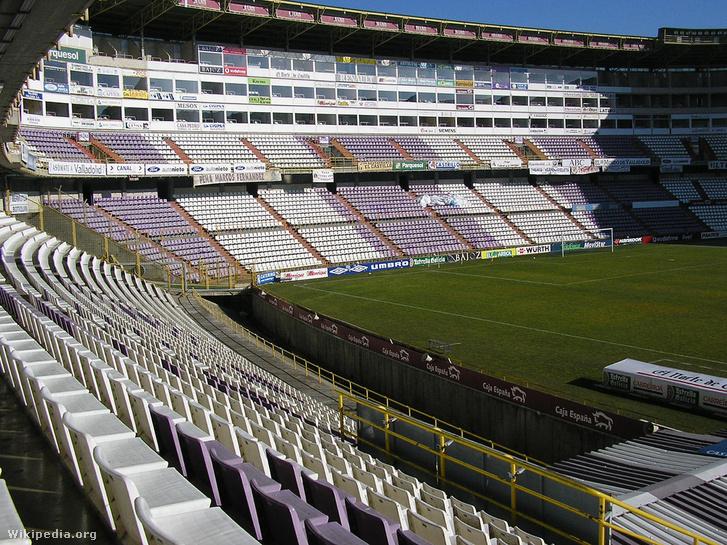 Estadio José Zorrilla desde Preferencia A