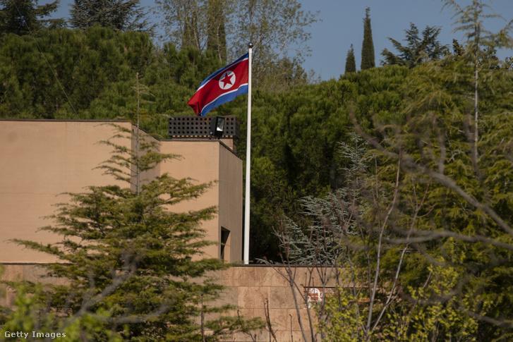 Észak-Korea madridi követsége