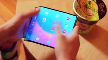 Újabb videón a Xiaomi hajtogatós mobilja