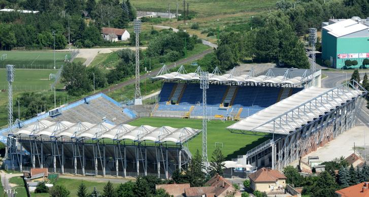 A ZTE stadionja Zalaegerszegen, az Október 6. téren.