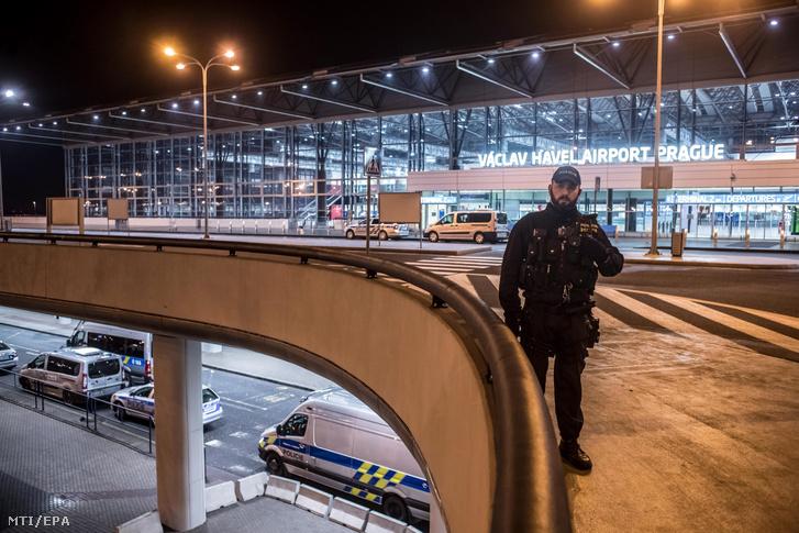 Képünk illusztráció! A Prágai Václav Havel Repülőtér