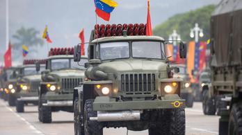 Moszkva: Addig maradnak orosz katonák Venezuelában, amíg csak kell