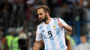 Higuaín végzett az argentin válogatottal