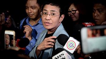 Három év alatt hetedszer vették őrizetbe a sztárújságírónőt a Fülöp-szigeteken