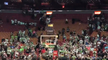 Kétezer szlovén csapott őrült bulit egy NBA-meccsen