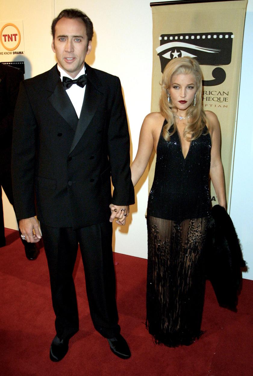 Nicolas Cage és Lisa Marie Presley is felkerültek a listára: csupán 107 napig voltak házasok.