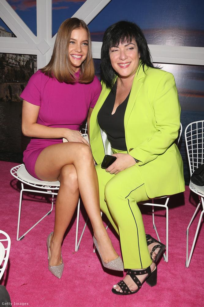 Itt a magyar modell beszélgetőpartnere Lorraine Ospedales, aki az IMG modellügynökség úgynevezett senior managere.