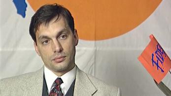 Felkerült a netre egy korai Orbán-interjú, amit Baló György készített