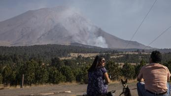 Vulkánkitörés fenyegeti Mexikó fővárosát