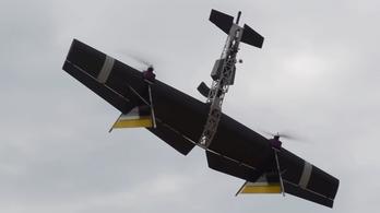 Repülő gépfegyver a legvadabb orosz drón