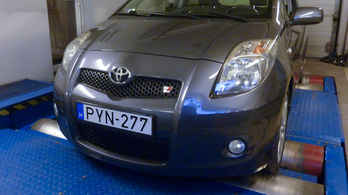 Totalcar Erőmérő: Toyota Yaris TS – 2007.